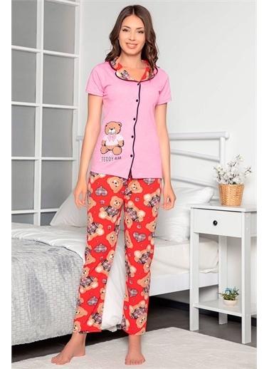 D-PARİS Pijama Takım Pembe